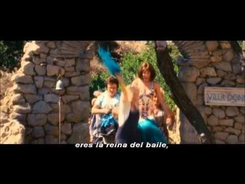 Mamma Mia The Movie Dancing Queen Subtitulado Al Español Meryl Streep Musica Del Recuerdo Musica