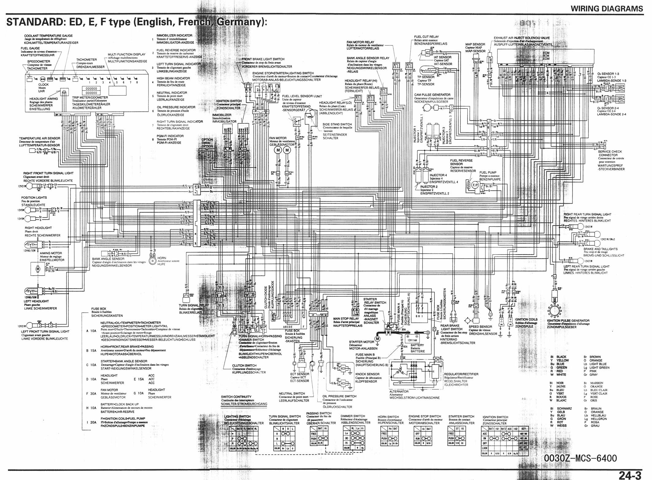 bmw f650gs wiring diagram english
