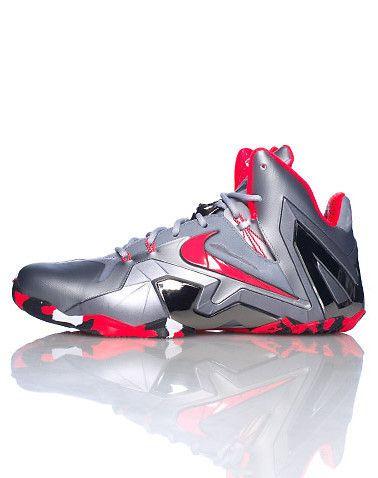 size 40 e67ba 0b7ee NikeLebron xi elite silver