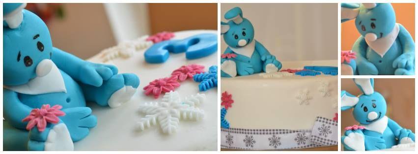Kikaninchen Torte zum 3 Geburtstag