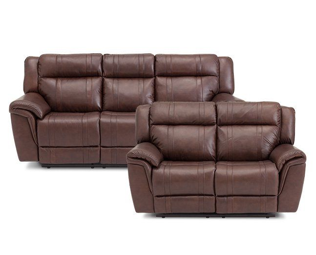 San Mateo 2 Pc Reclining Sofa Set $2 178 - power reclining sofa