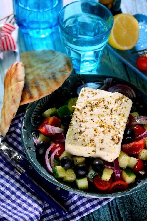Görögsaláta recept