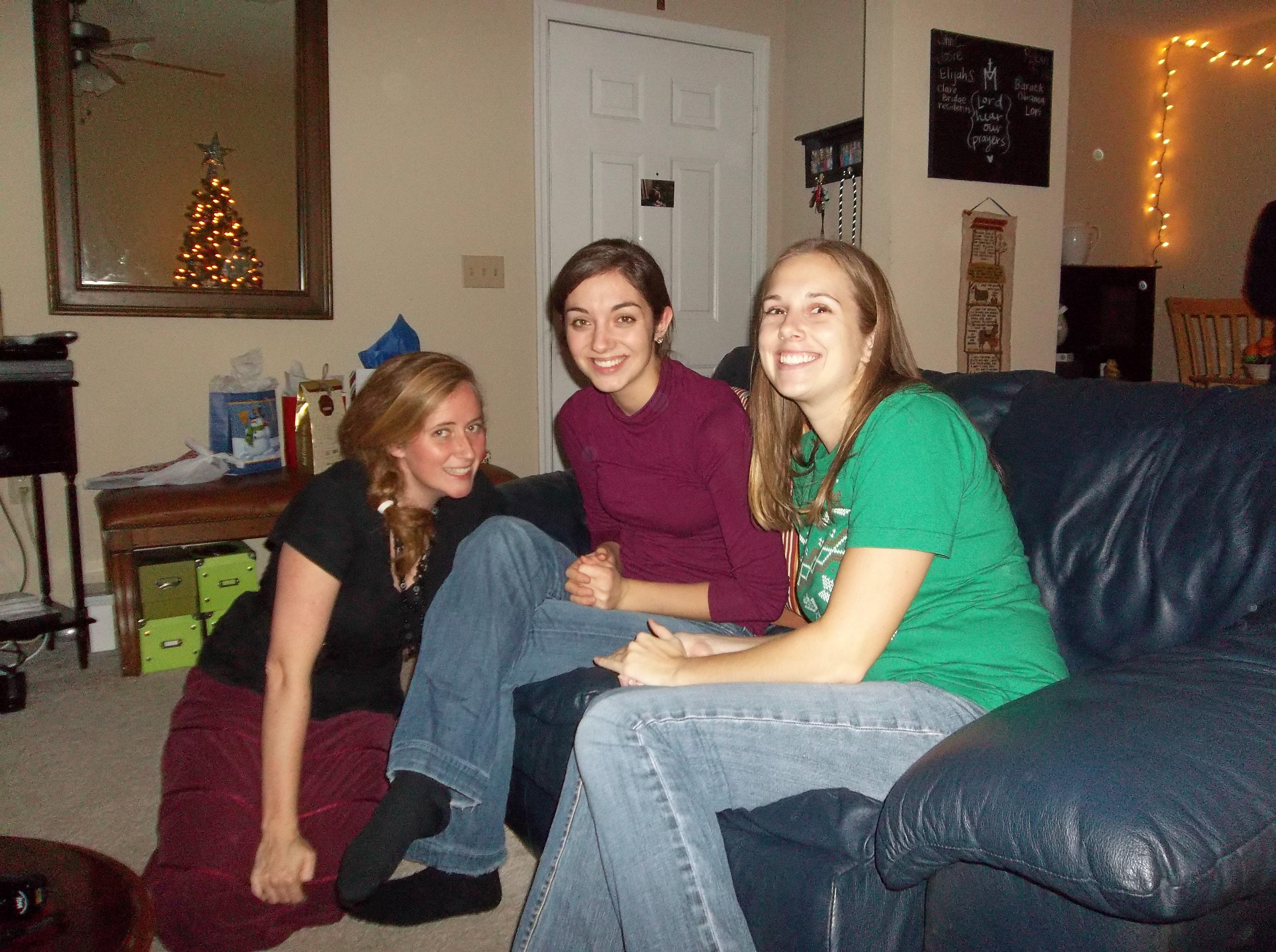 Women s Group Christmas Party & Caroling socks on 4