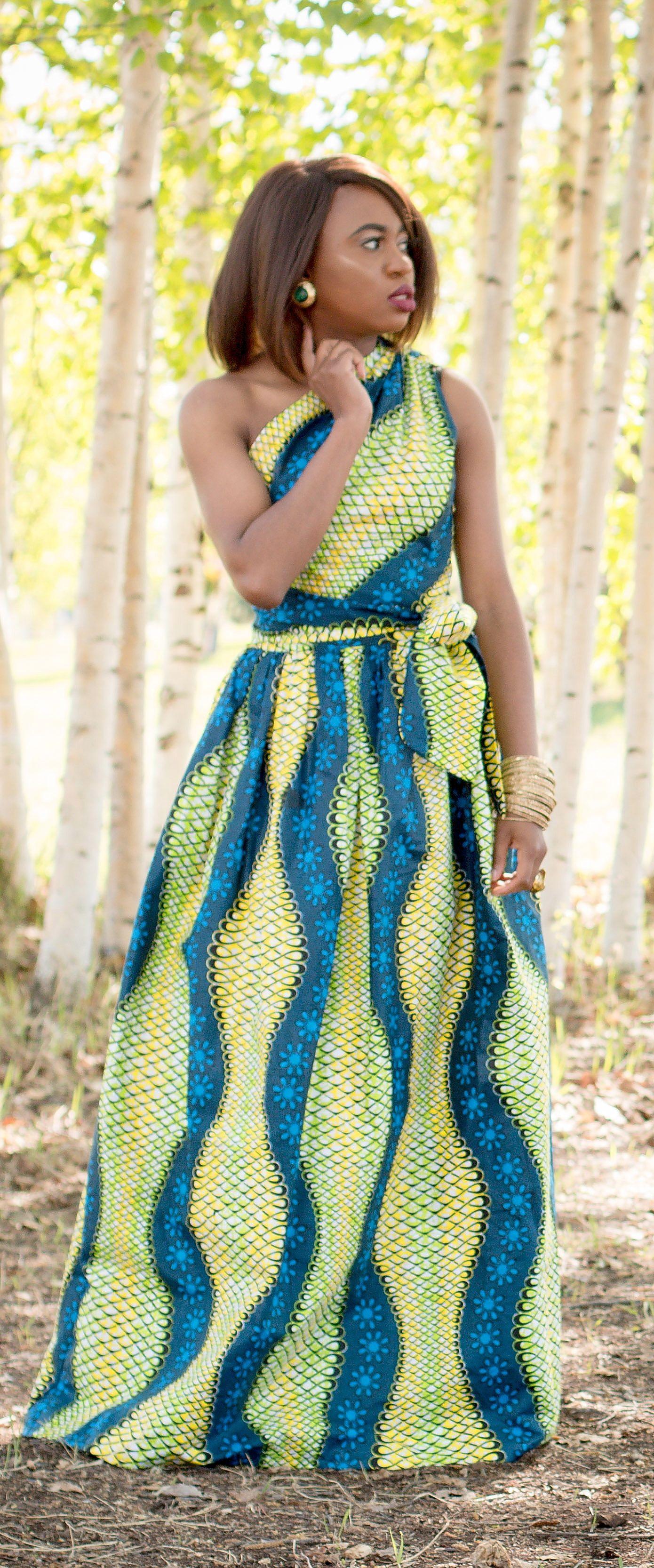 This reversible ankara dress is all you need right now ankara