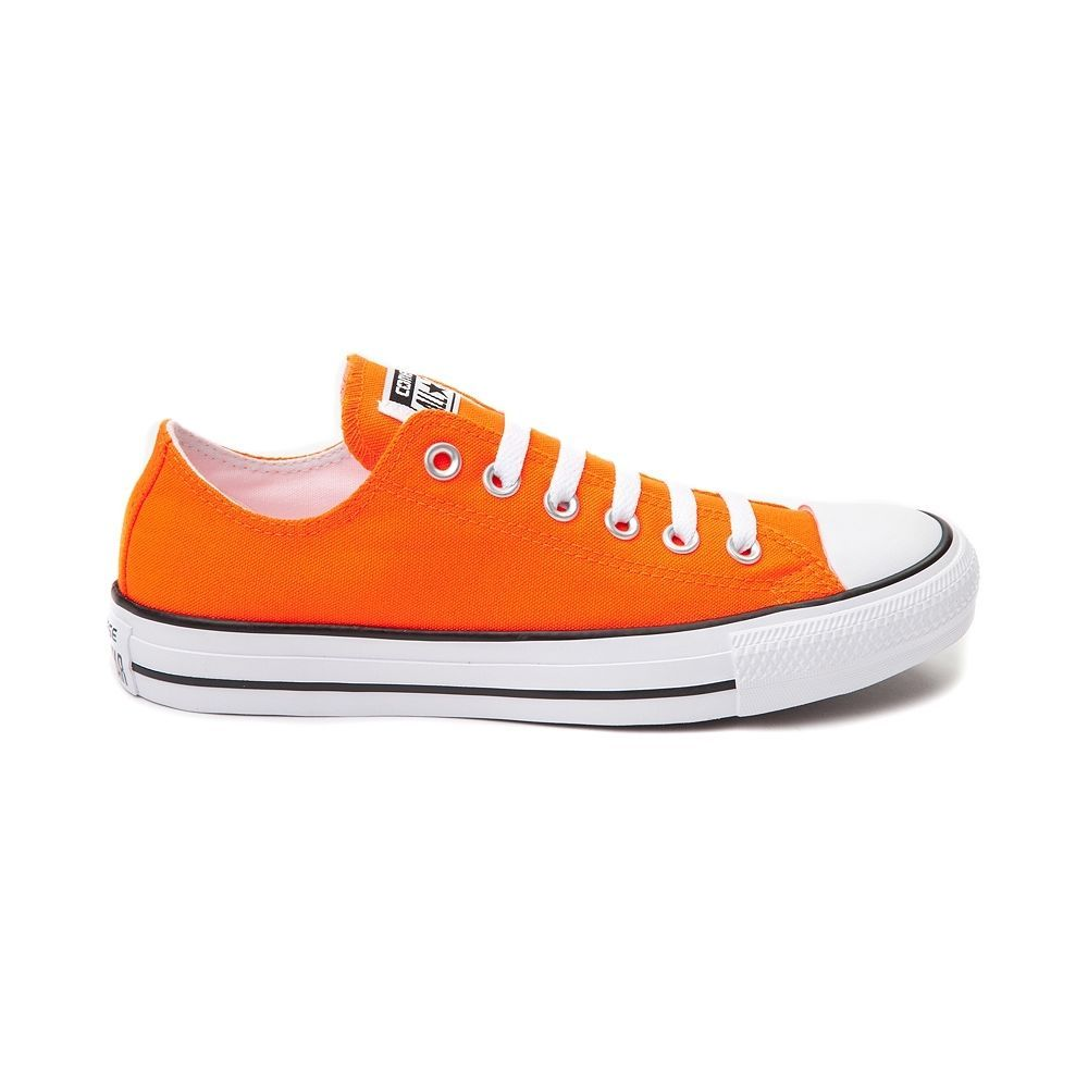 9cf4734d7921 NEW Converse Chuck Taylor All Star Lo Sneaker NEON ORANGE Womens Mens Shoes