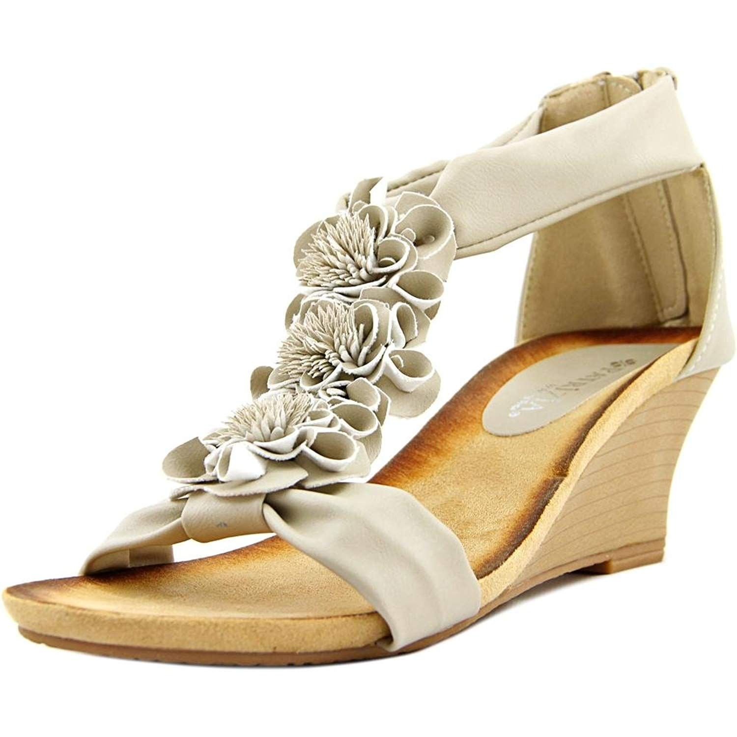 d483e30a66b4 Patrizia By Spring Step Isabella Women US 9 Nude Wedge Sandal EU 40. The  Patrizia By Spring Step Isabella Sandals feature a Synthetic upper with a.