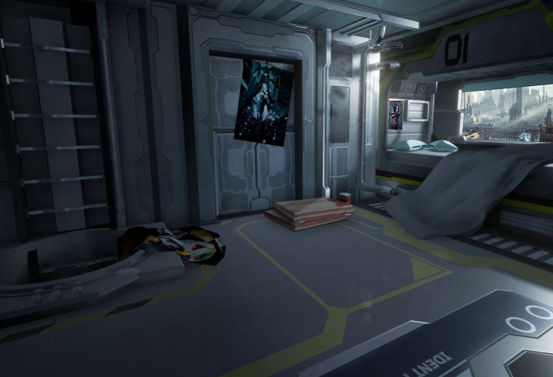 Artstation Sci Fi Bedroom Mihai Muscan Sci Fi 2 Concept Art