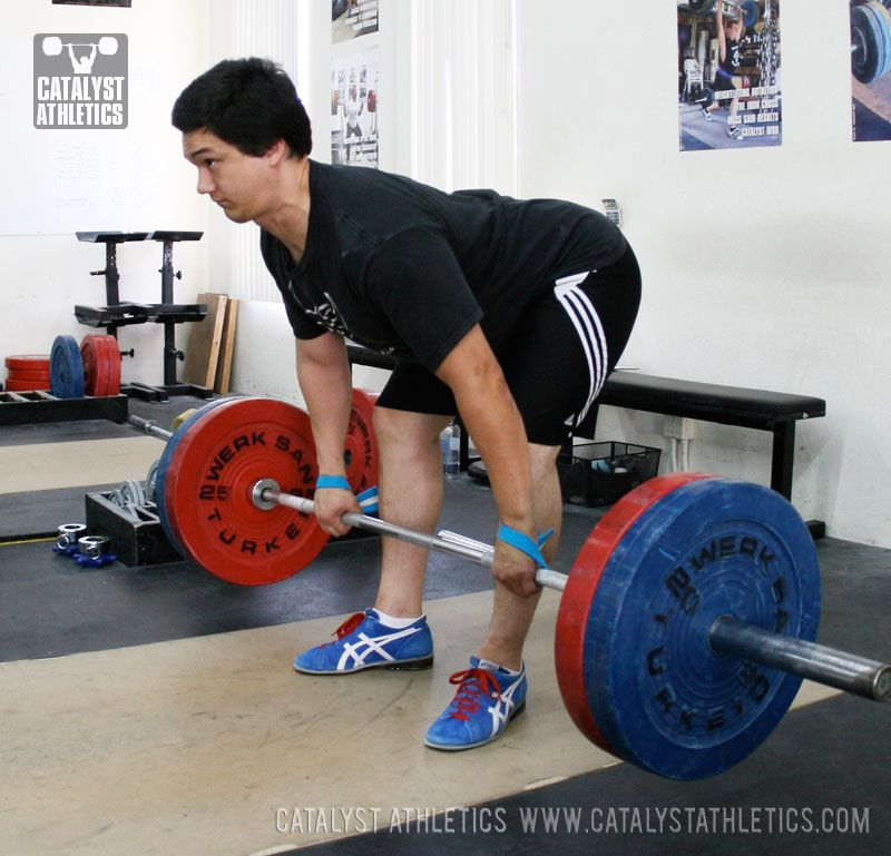 The Romanian Deadlift Training Weight lifting, Olympic