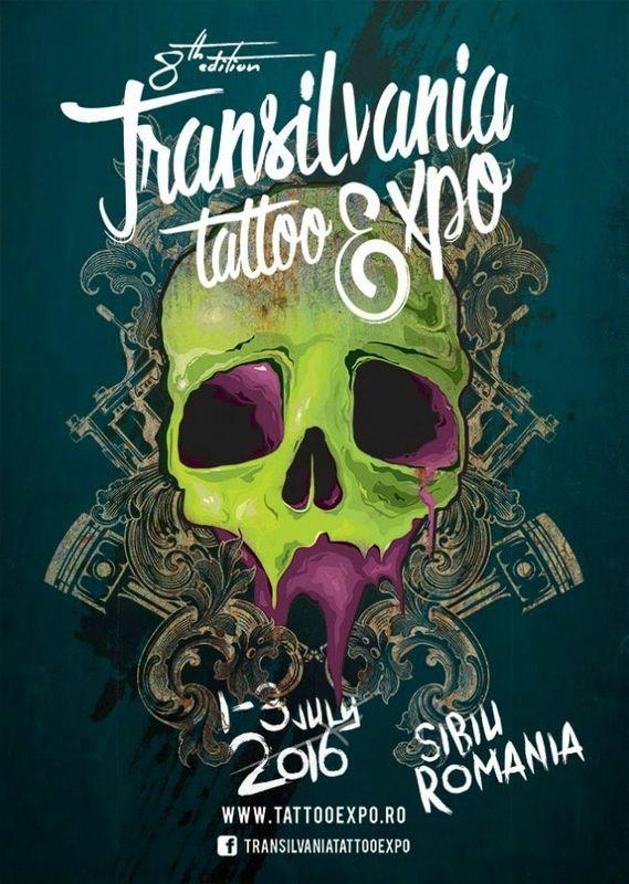 Expo Transilvania Tattoo  01:03 Juillet 2016