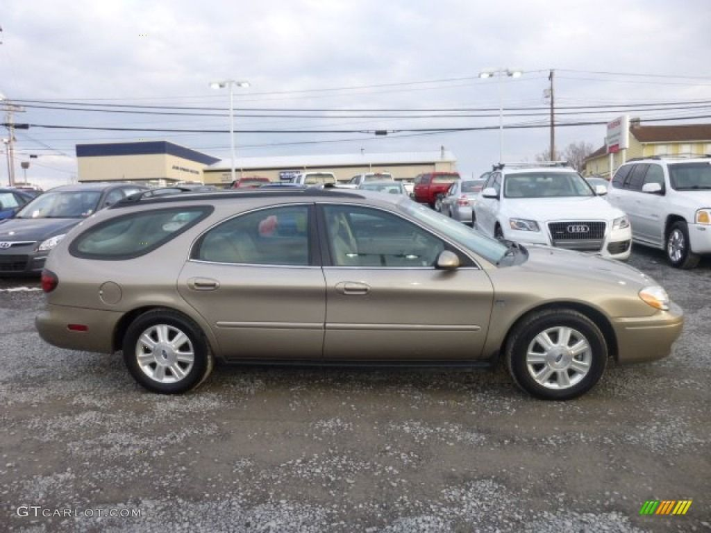 2005 taurus sel wagon arizona beige metallic no black trim on sides