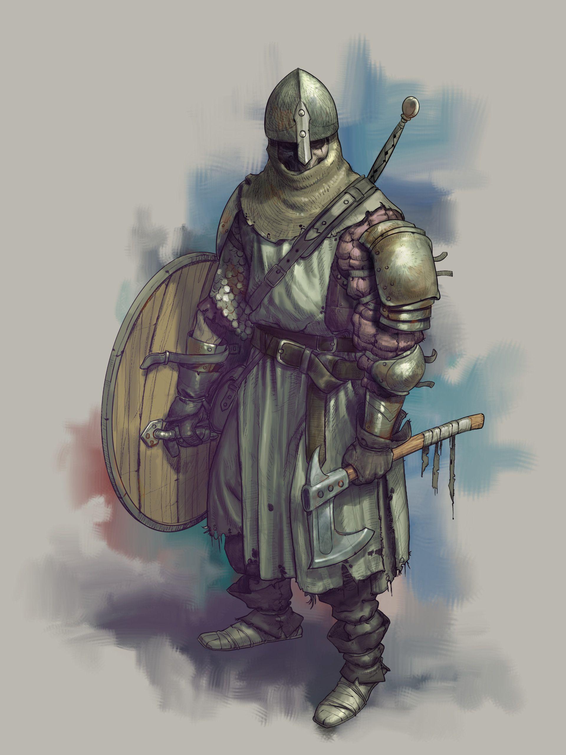 ArtStation Fantasy characters Mauro Fanelli