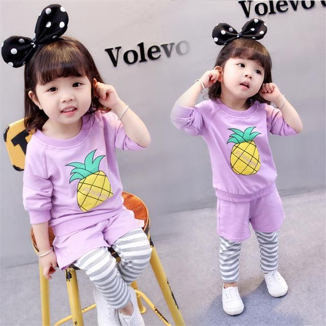 Purple Pineapple Print (2Piece) Products
