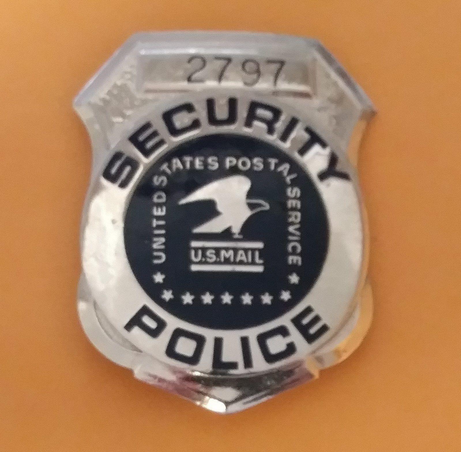 Security Police U S Postal Service V H B Postal Police Police Law Enforcement Badges