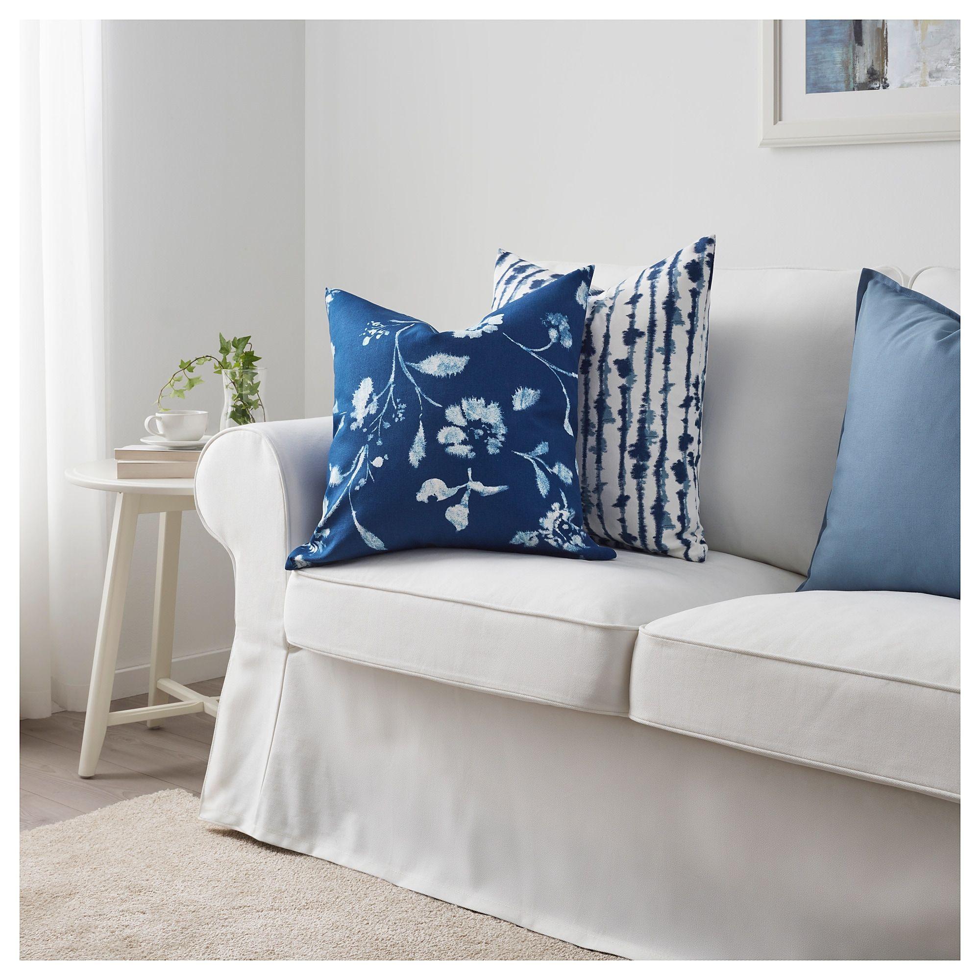 Blagran Kissenbezug Blau Weiss Kissenbezuge Ikea Inspiration
