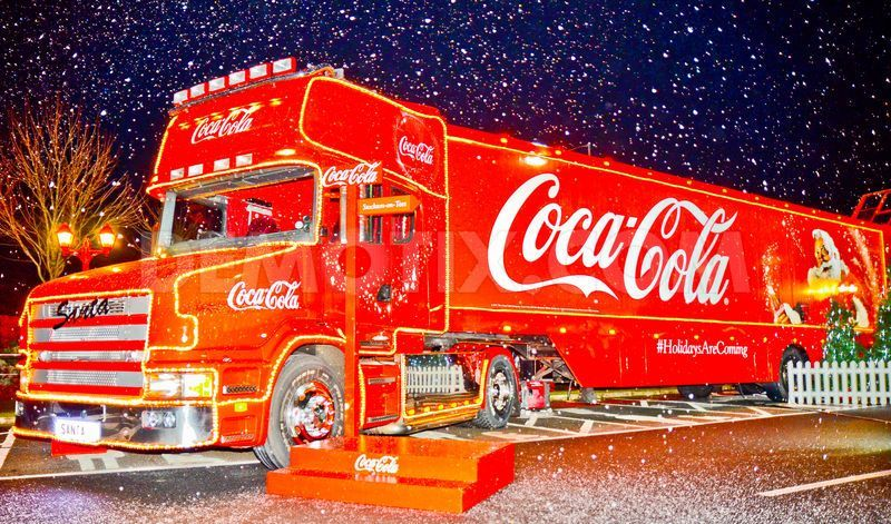 2020 Coke Cola Christmas Truck In Usa Pin on Coca Cola