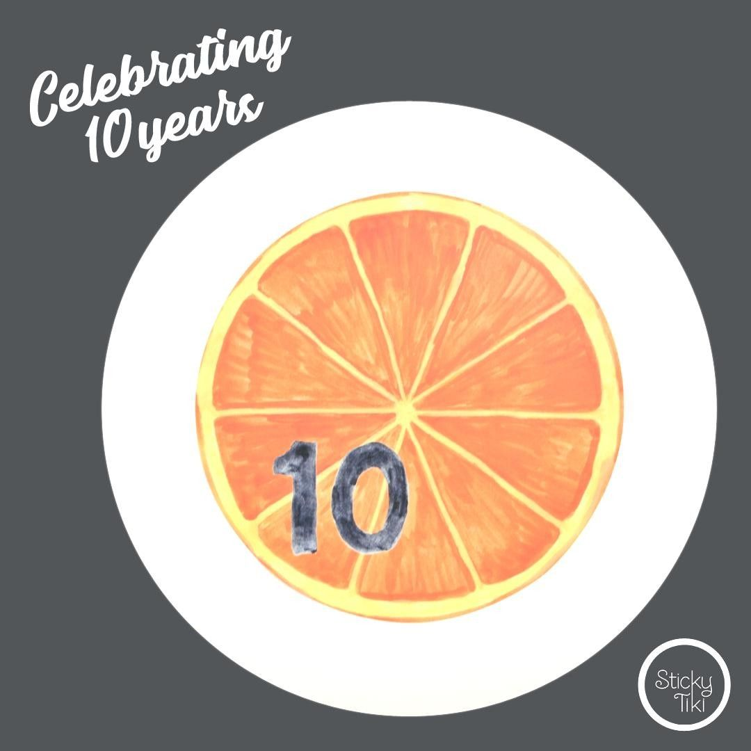 Let the countdown begin!⠀ 10...⠀ ⠀ countdown orange