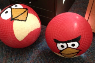 life size angry birds - Google Search | Camp Activities ...