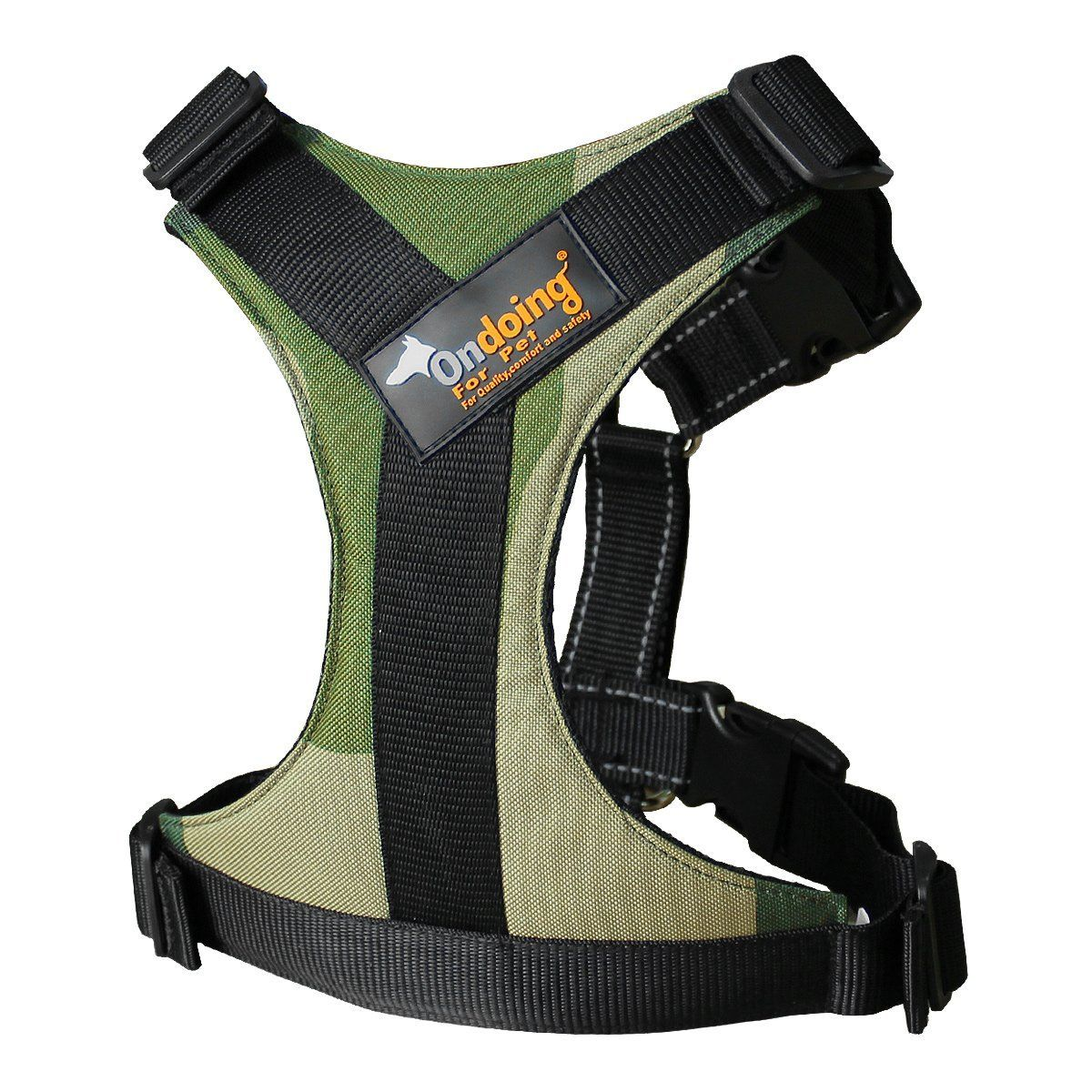 Dog Harness No Pull Easy Walking Running with Handle to