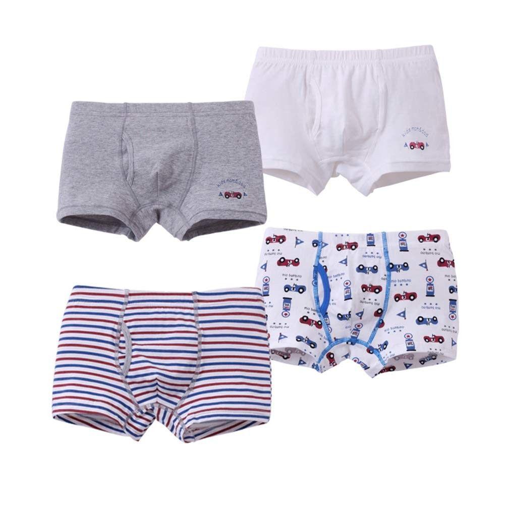 Little Boys Briefs Cartoon Cotton Boxers Underwear Soft and Cozy