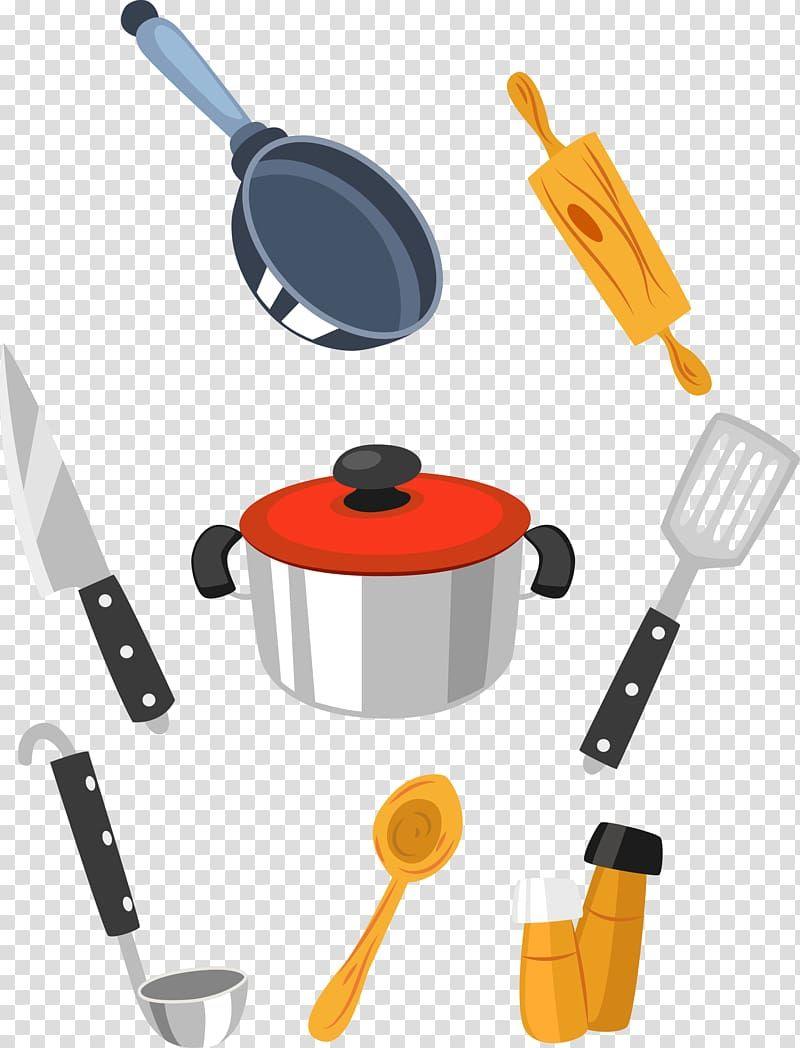 67 Cartoon Clip Art Cooking Utensils In 2020 Cooking Utensils
