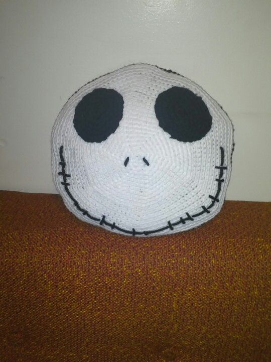 Crochet jack skellington pillow | Crochet Nightmare Before ...