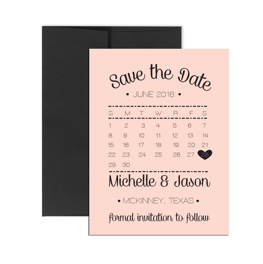 Blush Calendar Magnet Click Through To Find Matching Games Favors