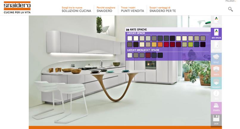 MEDIASTUDIO presenta l\'innovativo #configuratore #cucine #online a ...