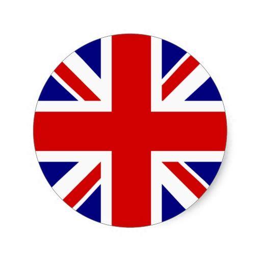 The Union Jack Flag Classic Round Sticker Zazzle Com In 2020