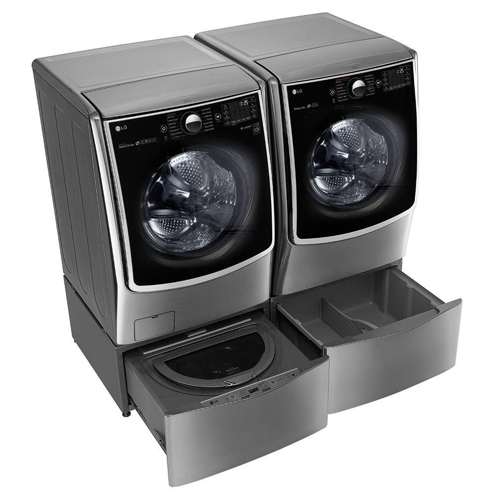 Lg Electronics 29 In 1 0 Cu Ft Sidekick Pedestal Washer With
