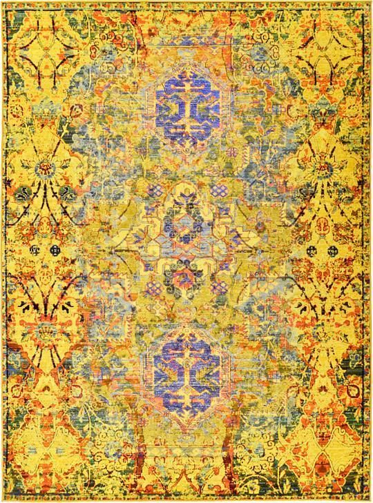 Fresh Yellow 9 10 x 13 Eclat Rug Area Rugs Top Design - Inspirational yellow kitchen rugs Picture