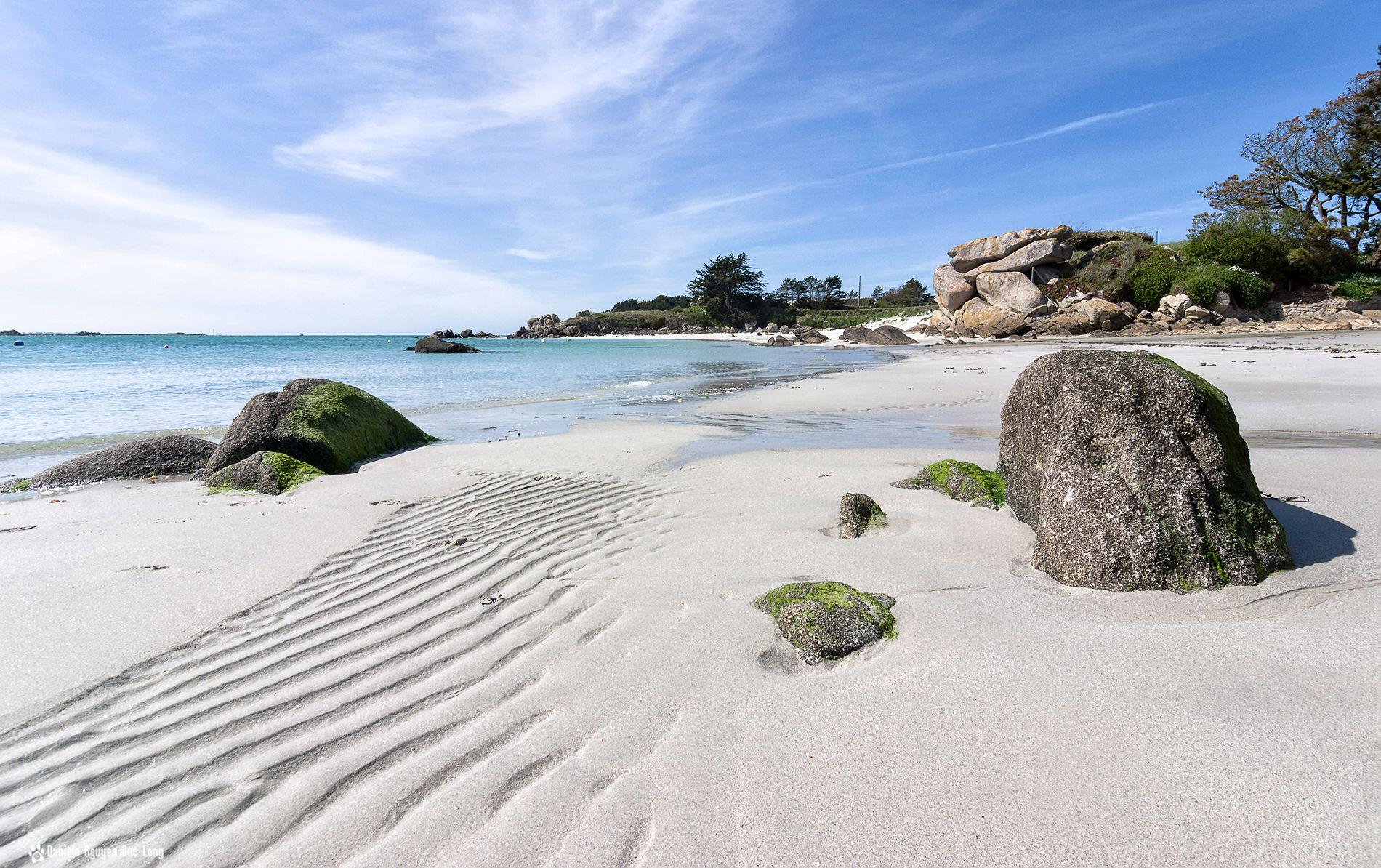 plage Poulfeunteun 1 copie plage sable blanc Poulfeunteun