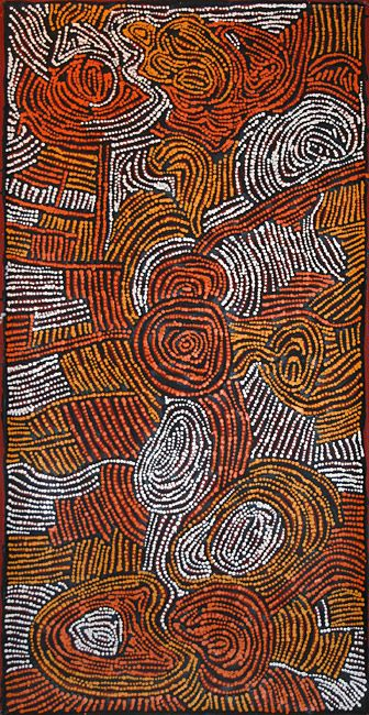 Mary Napangati ~ Wilkinkarra, 2008