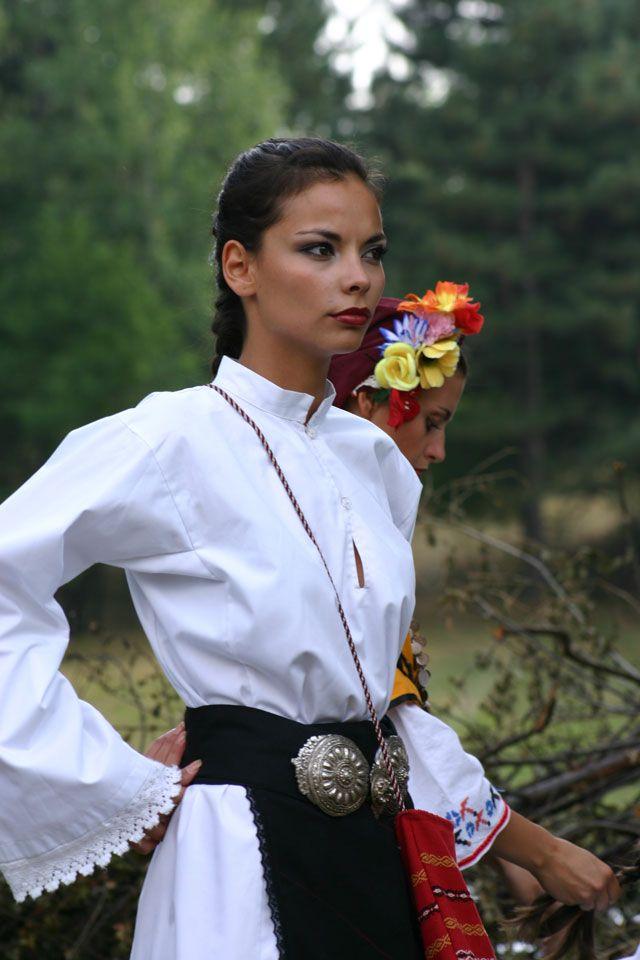 The Magic Of Bulgarian National Dress Girl Travel  Bulgaria-Culture In 2019 -6336