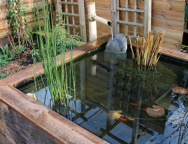 beau Conseils pratiques bricolage sur Construire un bassin hors sol en bois ( Jardin - VRD -