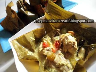 Resep Garang Asem Ayam Kuah Segar Gurih Pakai Santan Resep Masakan Indonesia Resep Masakan Indonesia
