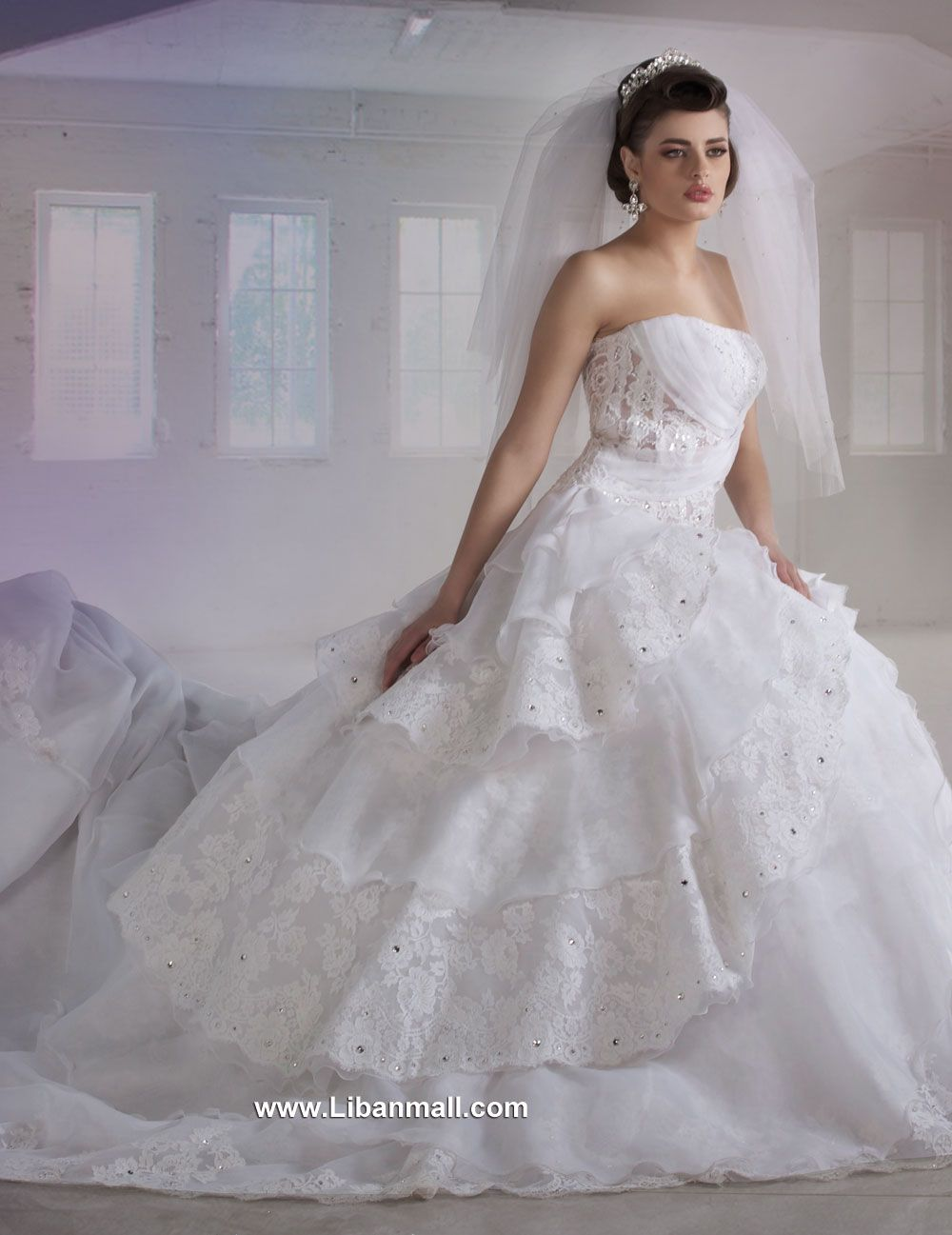 Weddings in lebanon - Wedding Dresses in Lebanon - Khairieh Mahfouz ...