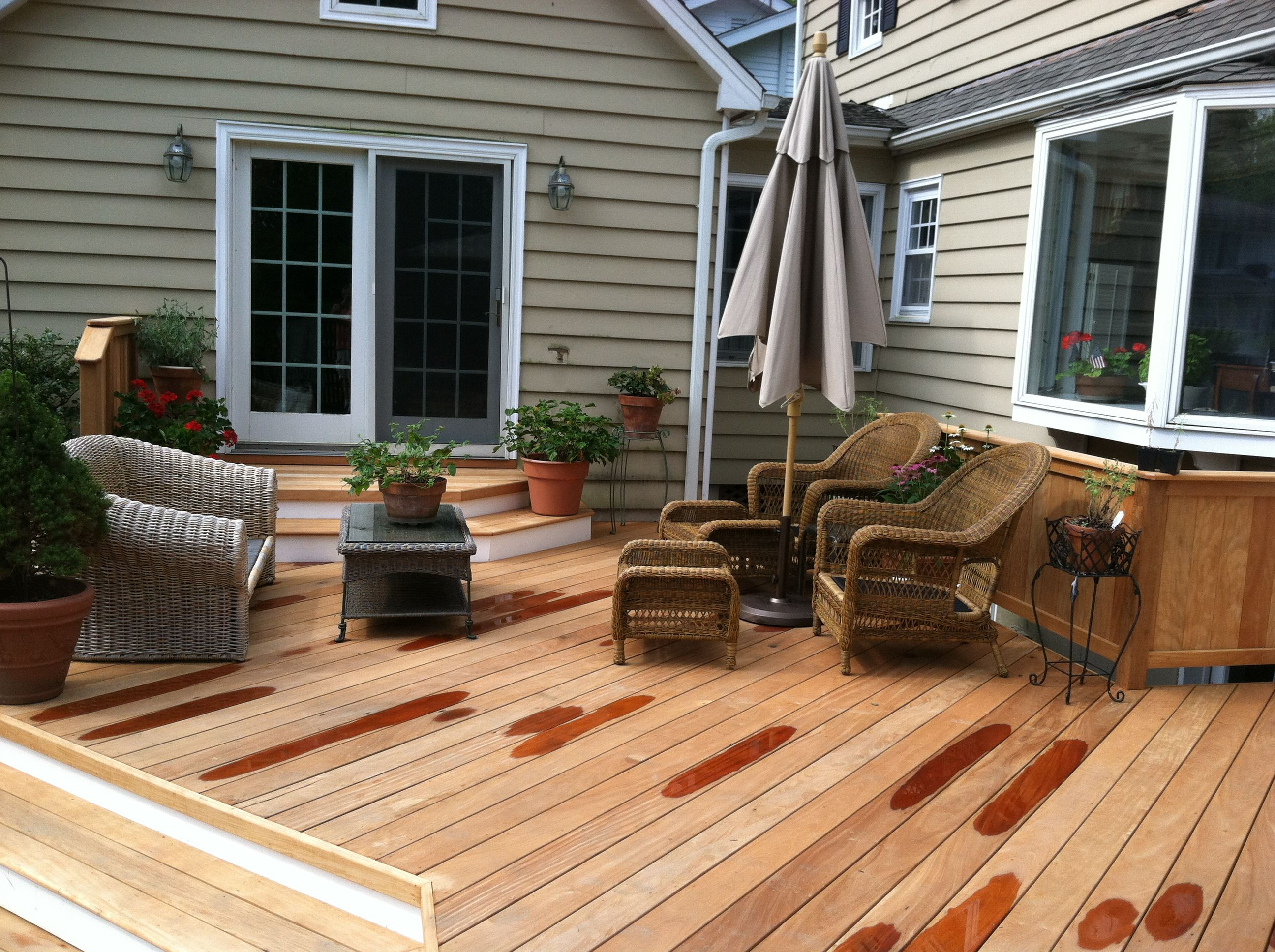 Garapa Deck in Old Greenwich, CT | Small outdoor spaces ...