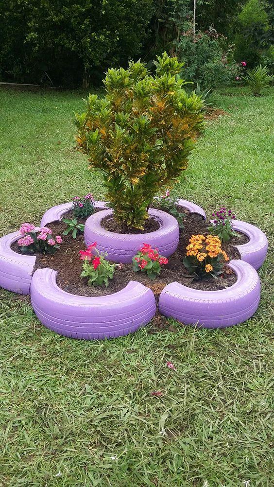 Pin De Kd Sc En Jardín Neumáticos Jardín Jardines Y