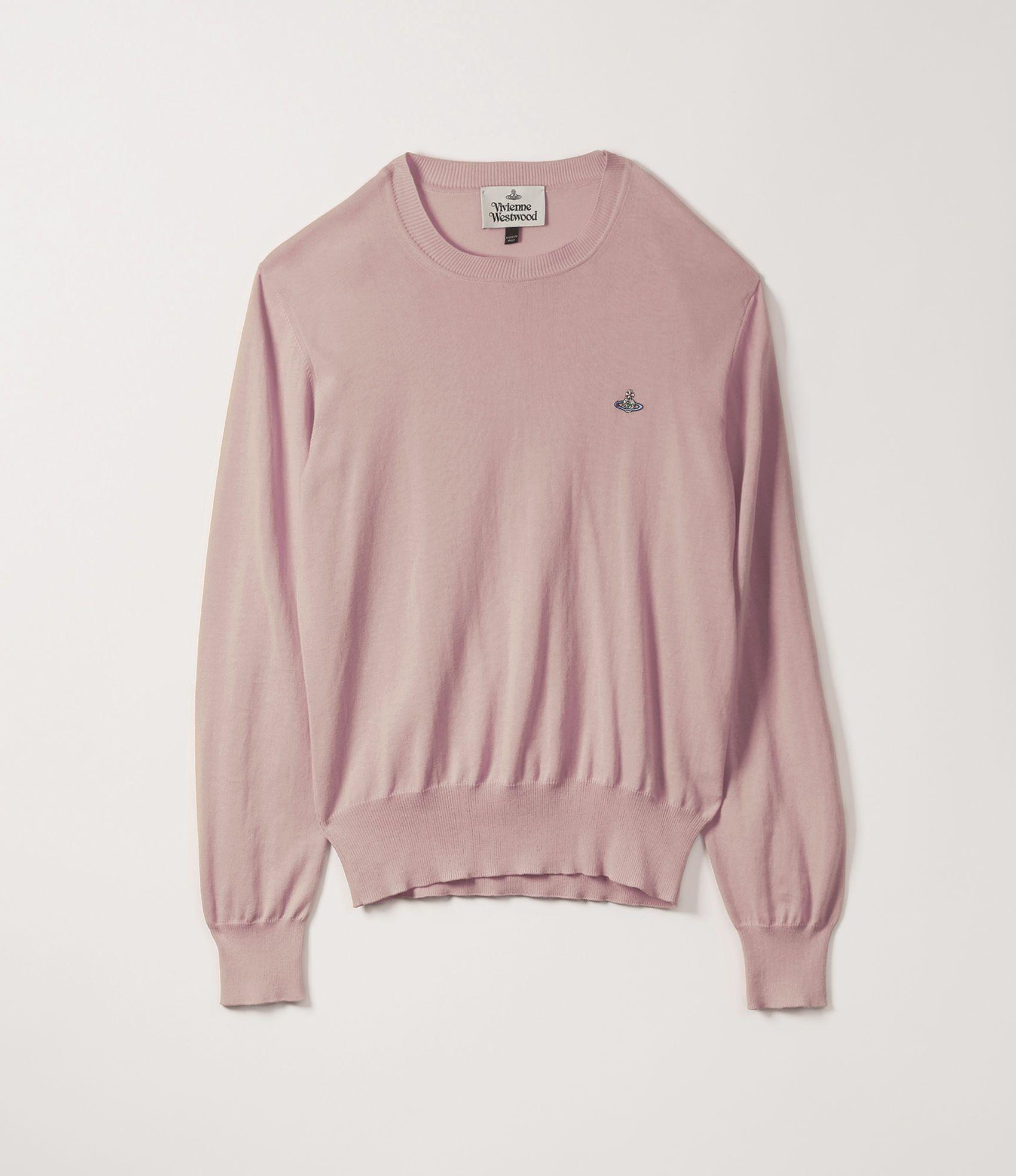2be59b586e9 VIVIENNE WESTWOOD Roundneck Knit Soft Pink. #viviennewestwood #cloth ...