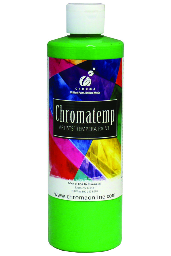 16oz Chromatemp Fluoro Green