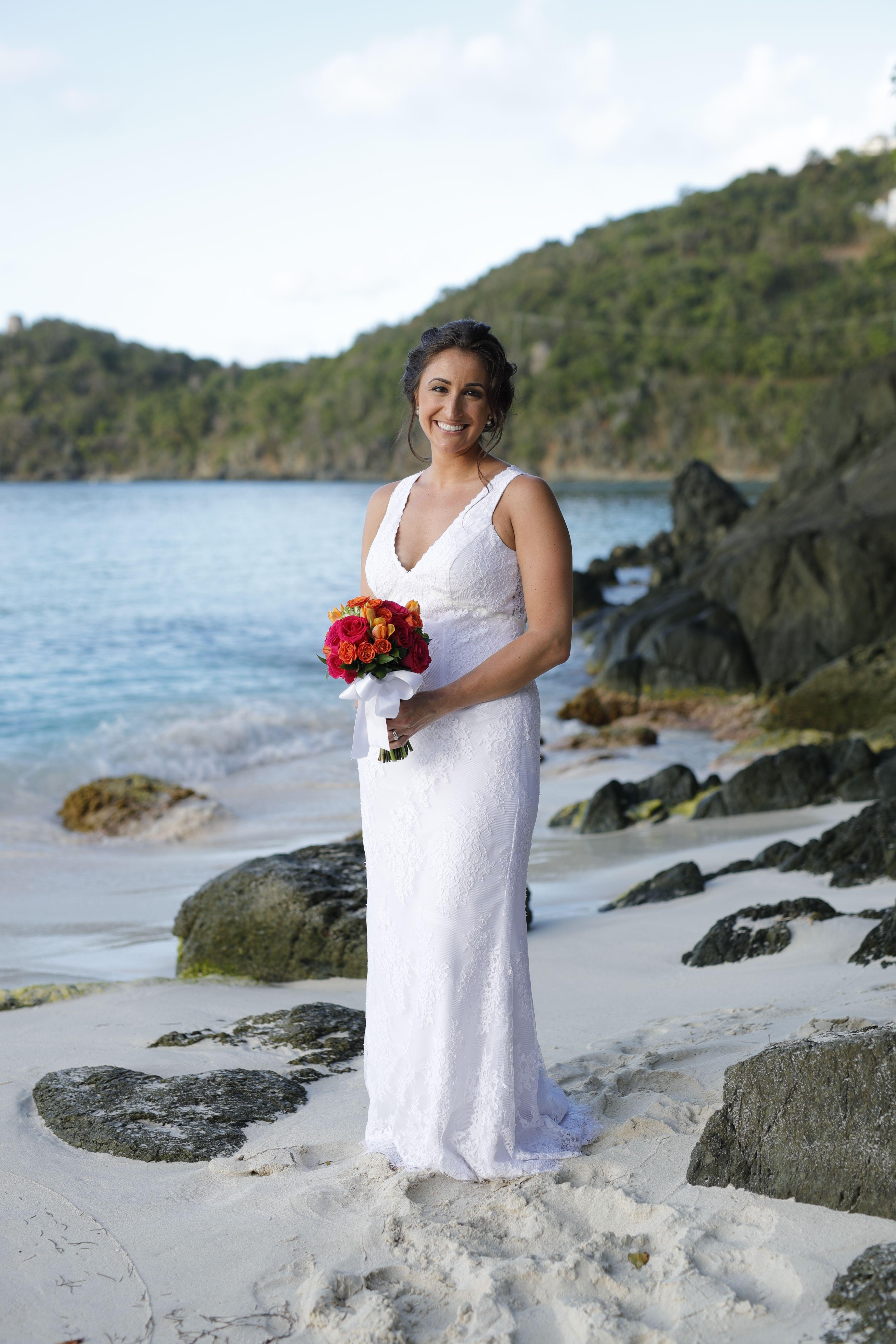 Pin by Ceremonies of St. John on Beach wedding dress