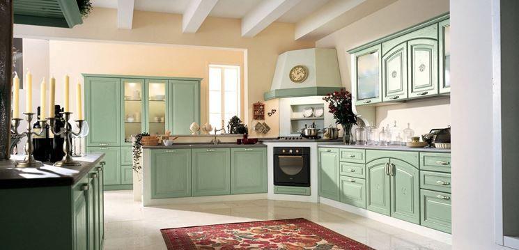 Cucine Stile Country Provenzale.Cucina In Stile Country Provenzale Colore Cucina Nel 2019 Cucine