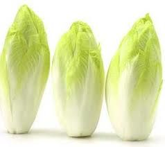 endive anti-ovarian_cancer_: endive can lower your risk of getting cancer by 75%!  He said that endive reduces your risk because it contains a chemical that starves cancer cells and causes them to die.  Dr Li said that you should eat Endive raw to receive benefits.  Eat 1/2 cup of endive twice a week.