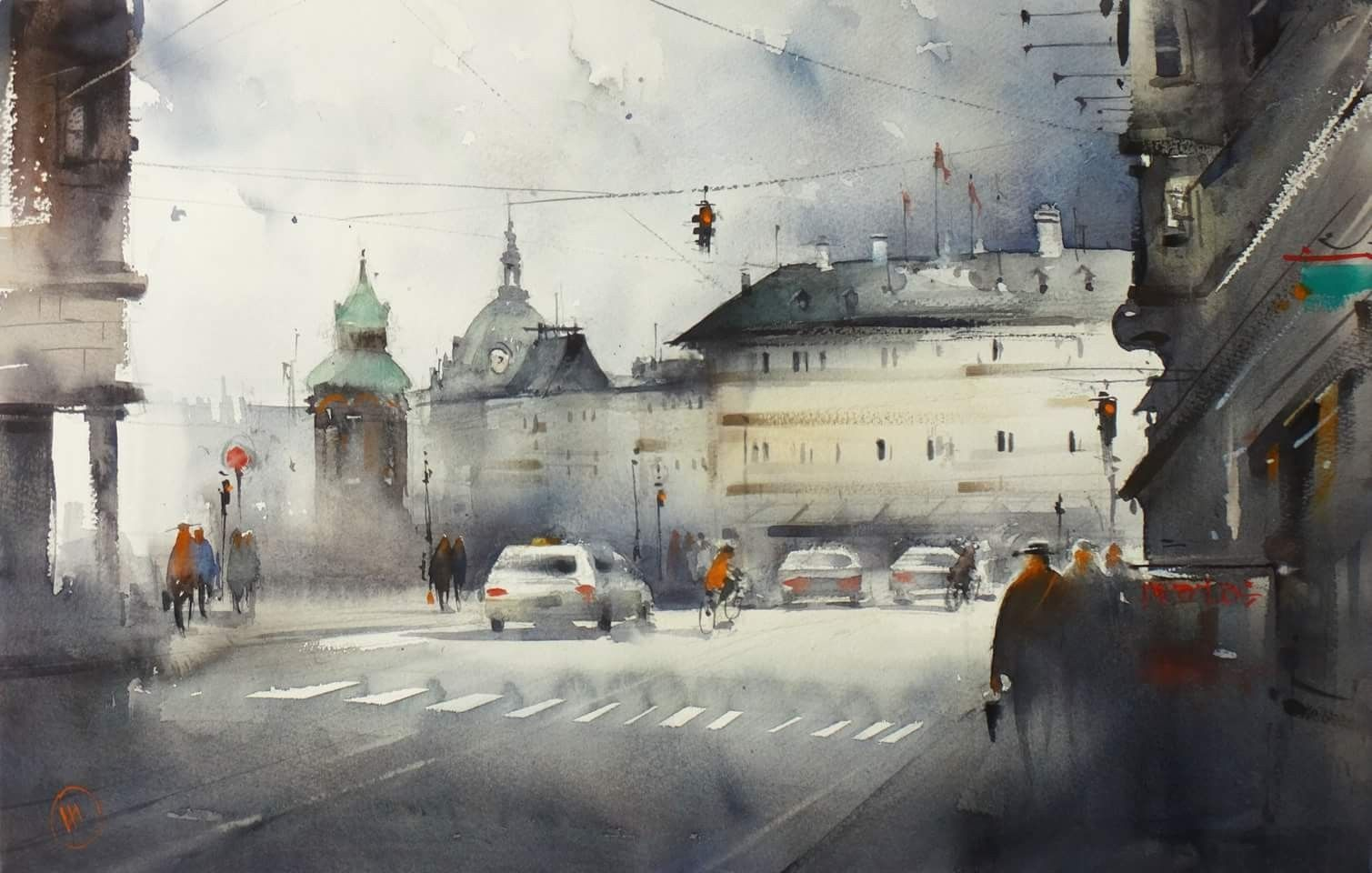 Ilya Ibryaev 2018 Arte Acuarela