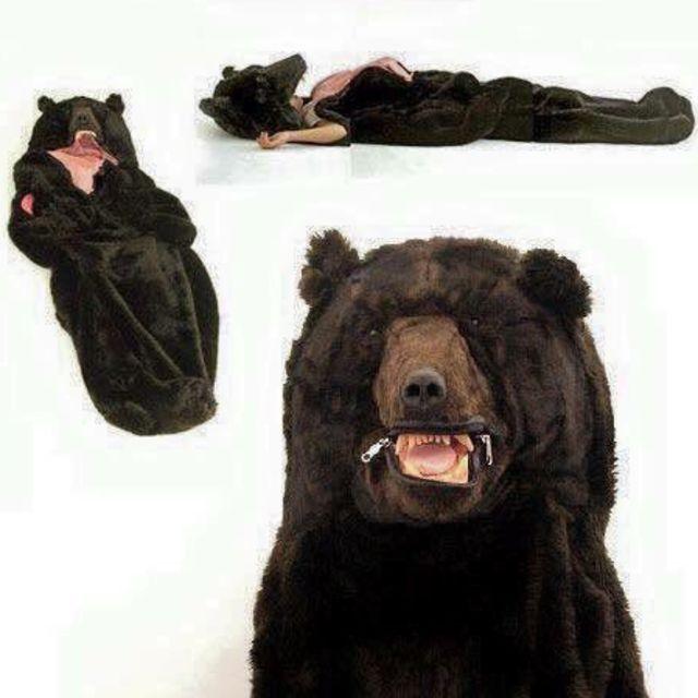 This Sleeping Bag Will Satisfy All Your Winter Hibernation