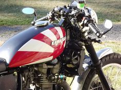 #Motorcycle Michaels KLR650 Cafe Racer 4