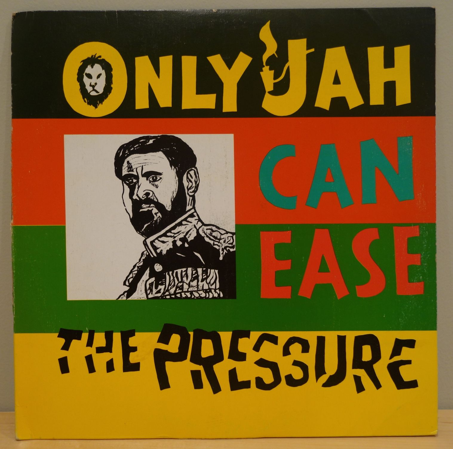 Earl Zero And The Soul Syndicate Band Only Jah Can Ease The Pressure 1979 Freedom Sounds Distributed By Federal Records This Lp Is Ease Reggae Rasta Art