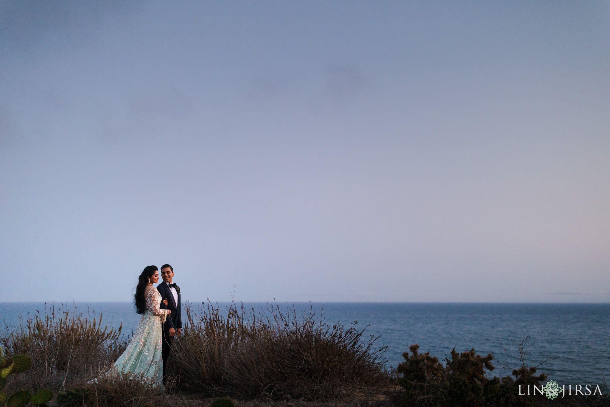 Terranea Resort Joint Indian Wedding Reception Wedding