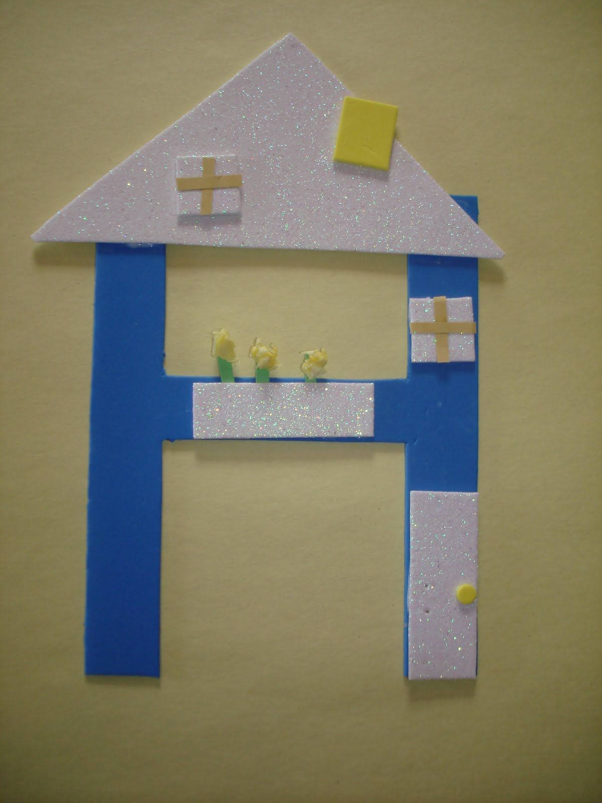 Letter H House
