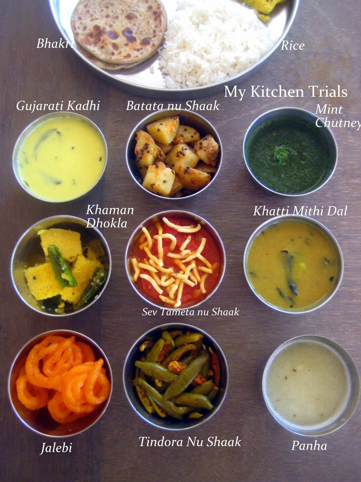 Gujarati thali desi dal vegetarian recipes pinterest gujarati thali gujarati thali recipes forumfinder Image collections